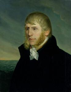 Caspar David Friedrich, Selbstporträt, Autoritratto, Self-portrait - 1810-20 Öl auf Leinwand - Olio su tela - Oil on canvas, 67 × 52.4 Amburgo, Kunsthalle